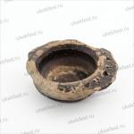 Фрагмент глиняного сосуда с эмалью