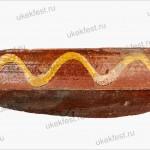 Фрагмент красноглиняной поливной чаши типа Кабарди.
