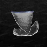 Фрагмент стеклянного стакана.