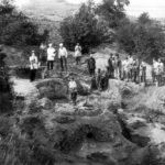 Раскопки на Увекском городище 1981 год